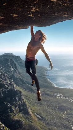 South Africa's Matt Bush is one of the world's best free solo climbers.