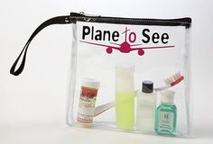 $10 Clever, but, ziplocks are cheaper. See-Thru Travel Cosmetics Bag for Airports