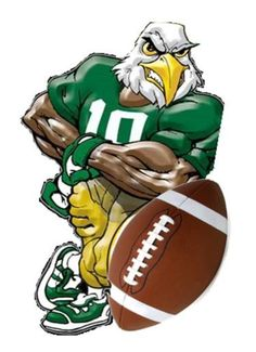 Philadelphia eagles mascot. Best school spirit