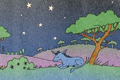 Header illustration for free children's picture book A Beautiful Day