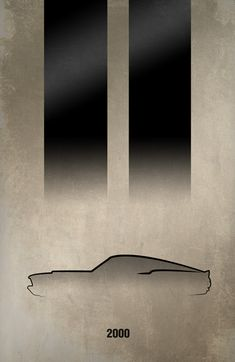 Amazing car inspired posters.  Eleanor from Gone in 60 Seconds.
