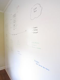 Have one wall in my office space for a white board to put my ideas on! I really think this will happen soon!
