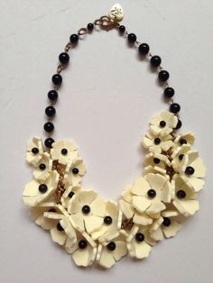 Tatty Devine Rare Flower necklace Big- Cost Sbout £200