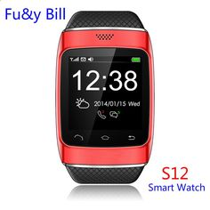 New Fashion S12 Bluetooth Smart Watches SIM Ccard Insertion Step Motion Smart Phone Watch