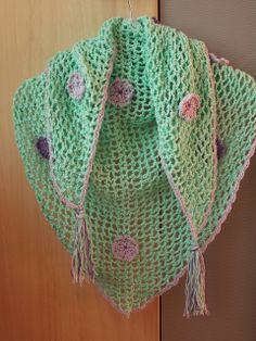 Renate's haken en zo: Luchtige omslagdoek / sjaal 2