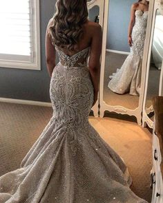 Gorgeous Shiny Beading Lace Strapless Overskirt Wedding Dresses, Popular 2019 Summer Beach Wedding Dresses Off The Shoulder A-line Lace Tulle Bridal Gowns Western Wedding Dresses, Sexy Wedding Dresses, Gorgeous Wedding Dress, Bridal Dresses, Maxi Dresses, Elegant Dresses, Wedding Gowns, Lace Wedding, Summer Dresses