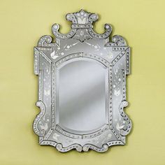 Large Royale Venetian Arch Wall Mirror - 37.5W x 47H in. - VG-018