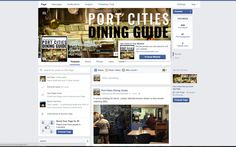 Port Cities Dining Guide Facebook page with support for Port Cities Dining Guide mobile app.