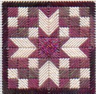 Quilt Block Needlepoint Twinchy Challenge August 2008
