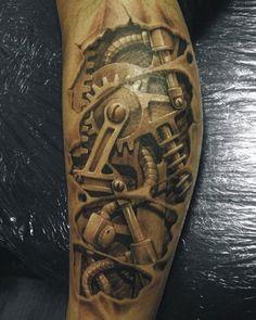 "Inspiration: The best ""3D"" tattoos i've ever seen - Blog of Francesco Mugnai"