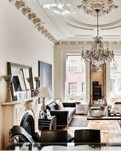 Light and height! Homebuilder Ara Hovnanian brownstone in the West Village via The Caledonian Mining Expedition Company
