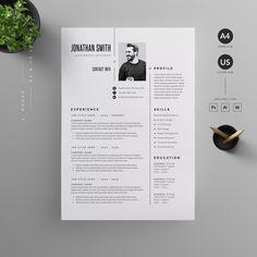 Resume/CV by Reuix Studio on Graphic Design Resume, Letterhead Design, Cv Design, Resume Design Template, Cv Template, Resume Templates, Architecture Student Portfolio, Cv Website, Desgin