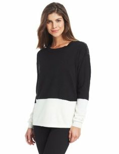 Annalee + Hope Women's Color-Block Sweater with Zipper Detail only $26.46