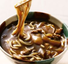 Photo: Japanese Curry Udon Noodles|カレーうどん love at first site Japanese Dishes, Japanese Food, Japanese Noodles, Japanese Curry, Milk Recipes, Asian Recipes, Cooking Recipes, Food C, Love Food