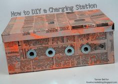 DIY Charging Station | Teen Craft | Recycled Craft