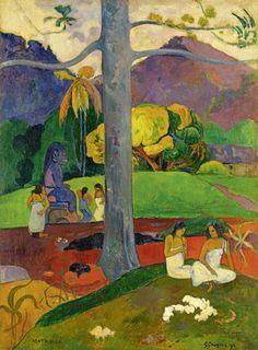 Paul Gauguin, 'Matamua (In Olden Times),' 1892, Fondation Beyeler