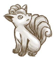 Vulpix by shirokiryuu.deviantart.com on @DeviantArt. #Pokemon #Vulpix #fanart