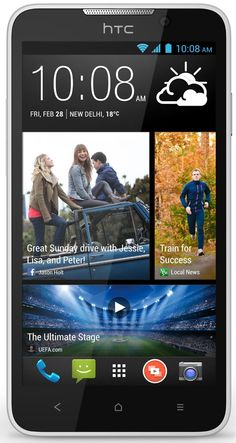 HTC Desire 516 (Dual SIM, Pearl White)