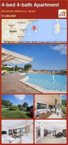 Apartment for Sale in Bendinat, Mallorca, Spain with 4 bedrooms, 4 bathrooms - A Spanish Life Murcia, Apartments For Sale, Luxury Apartments, Valencia, Barcelona, Bbq Area, Terrace, Golf Courses, Indoor