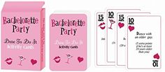 New 2017 LaPartiz Card Games for Bridal shower Bachelorette party parties games cards Wedding Games Ladies night and Birthday party $7.63 The Perfect Idea For a Perfect Bachelorette Party ! Dare-To-Do-It Cards That Will Spice Up Your Special Night! The Game That Will Make Your Bridal Shower Unforgettable! Stop Looking For The Unique Present For The Bride-To-Be, This Wonderful Kit Is The Best Present ! Surprise All Your Friends At The Party With a Game They Won't Be Ready For...