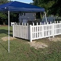 A pallet fence!!!  OMG - I totally need one of these for my little yorkies.  Because sharing a yard with gator is going to be challenging!!! Hometalk : This is a fence I made for my garden using pallets and old pickets from pallets.
