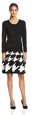 Jax Women's Long-Sleeve Printed Sweater Dress on shopstyle.com