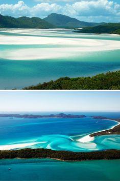 whitehaven beach – whitsunday island, australia.