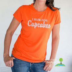 CUPCAKE T-shirt, Performance Short Sleeve Ladies' Fitted or Unisex Fit Sparkly Glitter T-Shirt, Create your Own