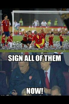Arsene Wenger up to his old tricks again... Hahaha (: