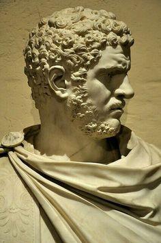 Roman Emperor Caracalla classical-beauty-of-the-past: Ancient Rome, Ancient Art, Antonin Le Pieux, Italian Statues, Ancient Greek Sculpture, Roman Artifacts, Roman Sculpture, Roman Emperor, Greek Art