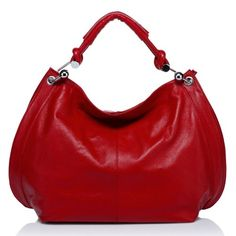 Vicenzo Amelia Leather Hobo Handbag - Listing price: $161.84 Now: $115.60 + Free Shipping