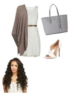 """Classy Times "" by shreyatorvi ❤ liked on Polyvore featuring Oui, Michael Kors and Gianvito Rossi"