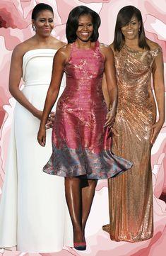 First Lady Michelle Obama - Style Icon Barrack And Michelle, Michelle And Barack Obama, Black Is Beautiful, Beautiful People, Durham, Barack Obama Family, Obamas Family, Moda Afro, Michelle Obama Fashion