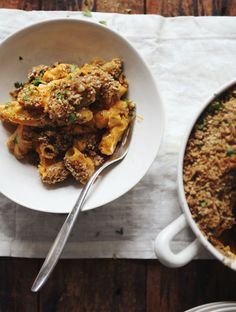 Deluxe Butternut Mac 'n' Cheese // My New Roots