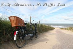 daily adventures....no traffic jams...Pawley's Island, SC