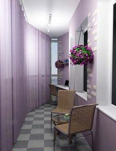 Toilet balcony