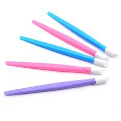ColorWomen 1 Pc Nail Art Stick Cuticle Pusher Remover Pedicure Manicure Tool 160822 Drop Shipping