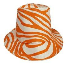 We love this canvas sunhat from Hable Construction! Home Decor Fabric, Sun Hats, Bean Bag Chair, Projects To Try, Fabrics, Construction, Handbags, Orange, Canvas