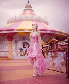 Model: Andressa Damiani Photo: Gwen von S. Ohana