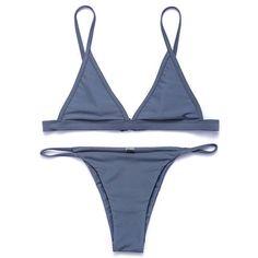 Bikinis women Swimsuit Micro Bikini Set Bathing Suits With Halter Strap Swimwear bottom