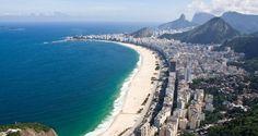 Praia de Copacabana vai abrigar a arena de vôlei de praia para os jogos Olímpicos de 2016