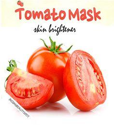 tomato mask skin brightener
