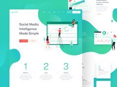The Perfect Match — Illustrations and Web Design – Muzli -Design Inspiration