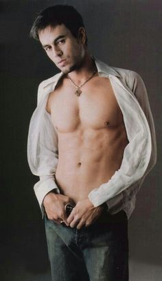 Enrique Iglesias.. Haha this is my lock screen picture.