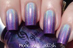 The Digital Dozen does gradients - purple holo