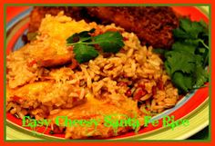Sweet Tea and Cornbread: Easy Cheesy Santa Fe Rice!