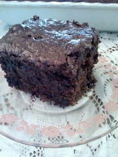 Double Chocolate Zucchini Cake!
