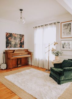 A music room / famil