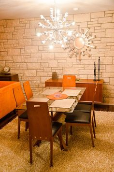 1952 Mid-century Tract Home - Beautiful dining area