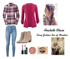 """""""Anabeth Chase sea of monsters"""" by squidney12 ❤ liked on Polyvore featuring maurices, The North Face, Golden Goose, MAC Cosmetics, NARS Cosmetics, Milani, women's clothing, women, female and woman"""